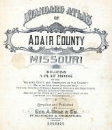 Title Page, Adair County 1898